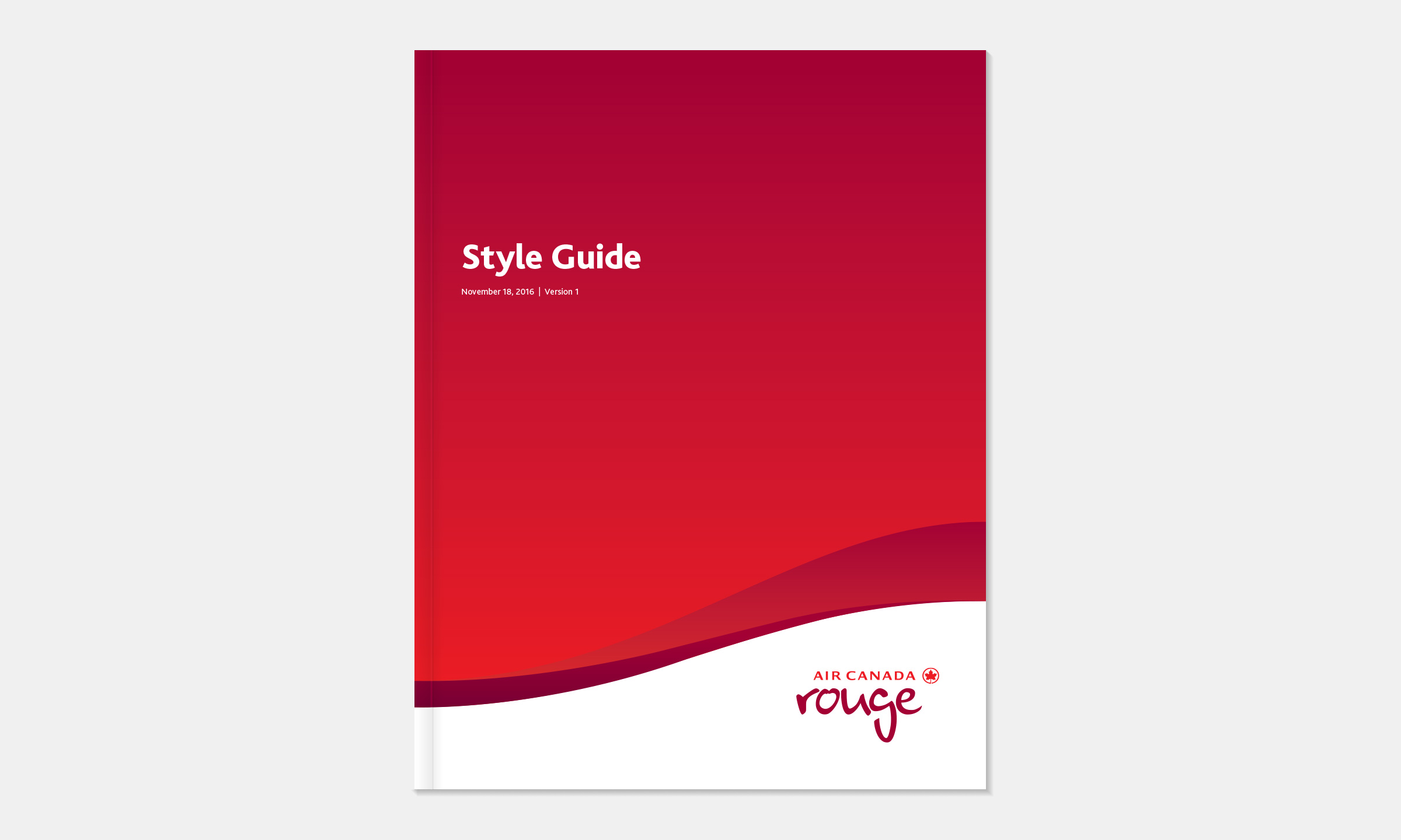 Style guide front cover